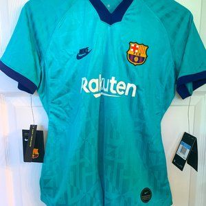 Nike Womens FC Barcelona Third Soccer Jersey large